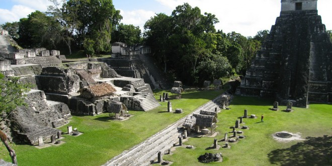A pick me up … Tikal in the morning!