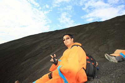 Adding Volcano Boarding to my bucket list … check!