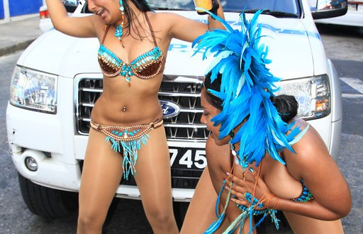 The girls of Carnival Tribe on Carnival Tuesday 2012 … there might be one or two girls on the streets … just sayin (Photo Blog)