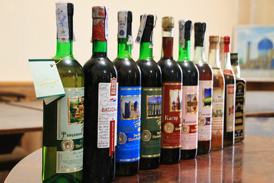 Wine tasting in Samarkand … yep … seriously!