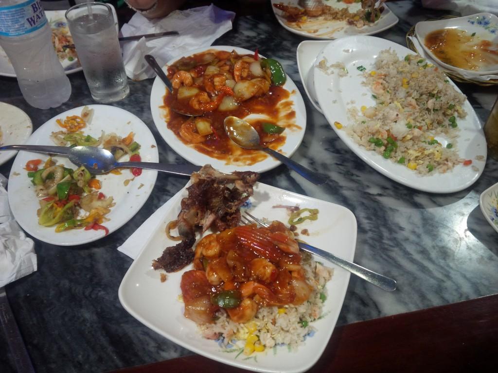 Trini Chinese food