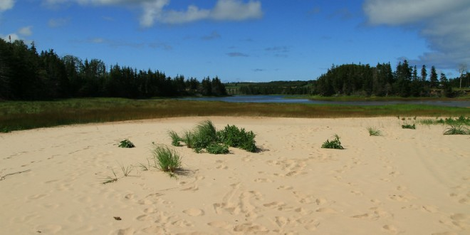 What to do in PEI #9 : Find a PEI secret beach for a Trini lime