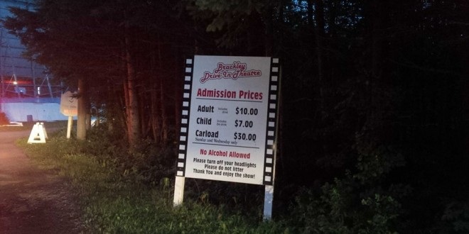 What to do in PEI #5 : Go to the Brackley Drive In