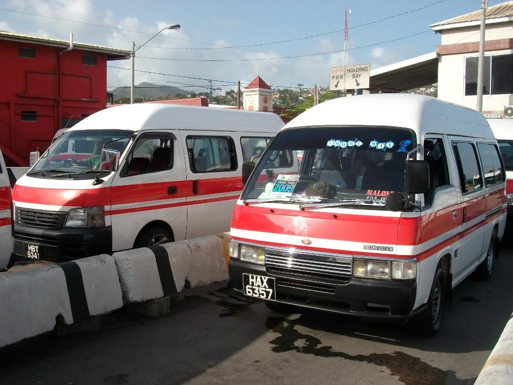 Maxi taxi Trinidad
